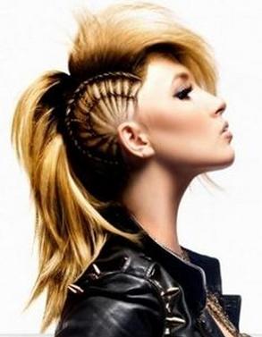 Punk frisuren damen kurz
